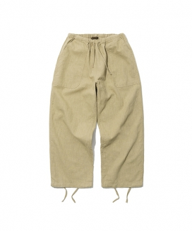 [Uniform Bridge] 19ss linen balloon pants