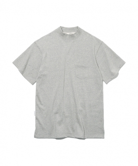 [Uniform Bridge] 19ss mock neck s/s tee