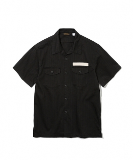 [Uniform Bridge] 19ss army short shirts