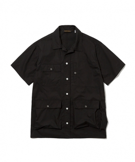 [Uniform Bridge] 19ss traveler short shirts jacket