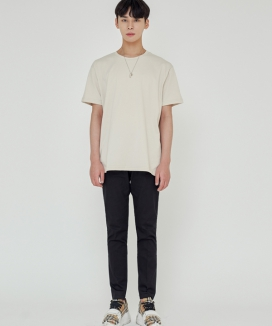 [TRIP LE SENS] LOOSE FIT SILKET T-SHIRTS
