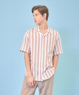 [CLIF] SUMMER STRIPE SHIRT