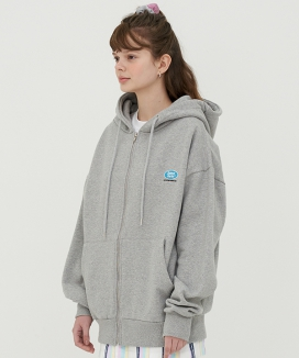 [SameForts] LOGO HOOD ZIP-UP