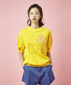 [Between A and B] BANB PATCH TEE