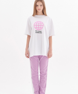 [ATAR] WORLDWIDE 1/2 t-shirt