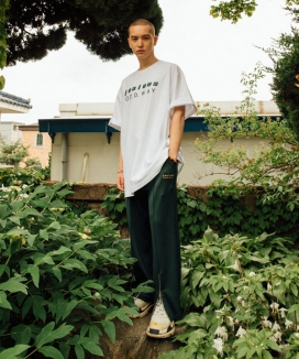 [OOD] SLIT ZIPPER TRACK PANTS