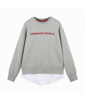 [ORDINARY PEOPLE] ORDINARY LAYERED MTM SHIRT (기모X)