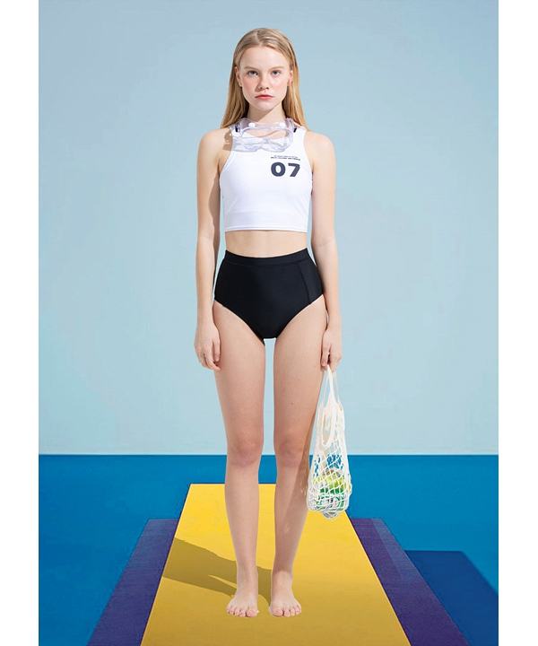 [RSVP] 07 NUMBERING SWIM SUIT TOP