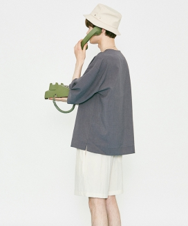 [VOIEBIT] V824 NYLON BUCKET HAT