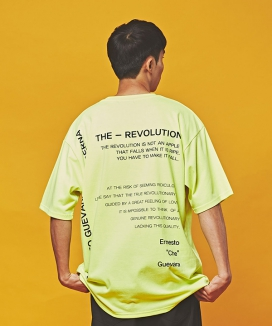 [MINIMALCODE] THE REVOLUTION Overfit Short-sleeved t-shirts