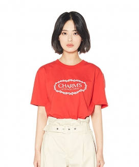 [CHARMS] CHARMS ROSE CIRCLE LOGO T