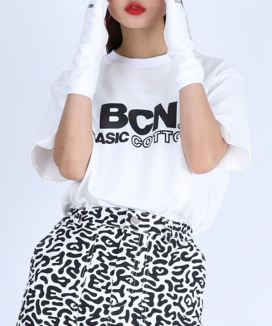 [BASIC COTTON] bcn half top