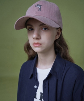 [WaiKei] Steady_Logo Embroidered Pigment Ball Cap
