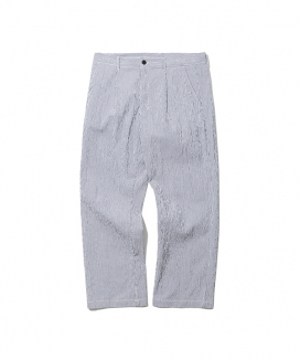 [Uniform Bridge] 19ss stripe seersucker pants