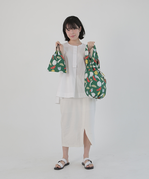[textile area] バケットピクニックバッグ_セサミ!