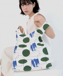[textile area] REVERSIBLE PICNIC BAG