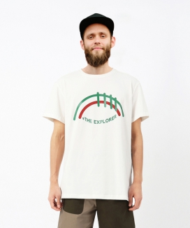 [LUVur] THE EXPLORER PRINT T-SHIRT