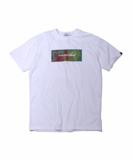 [ABOUT CITY] FINE DUST BOX LOGO OVER FIT TEE