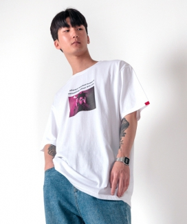 [ABOUT CITY] BASQUIAT OVER FIT TEE
