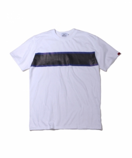 [ABOUT CITY] TWO COLOR LINE PRINTING OVER FIT TEE