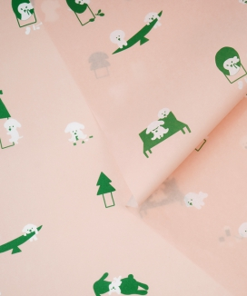 [moreener] Wrapping paper (3 sheets)