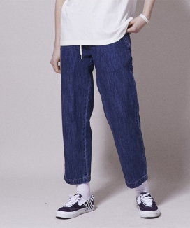 [URBANDTYPE] UBDTY Denim Banding Pants