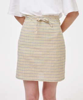 [NOYCOMMON] RIBBON STRING SKIRT
