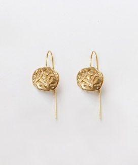 [Vi/Ve] Oat Circle Earring