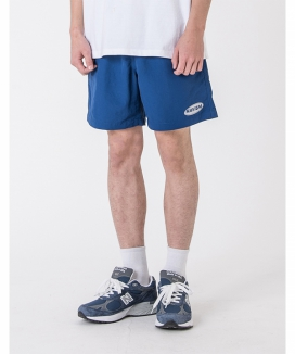 [HAVISM] REFLECTIVE SIGNATRURE LOGO SHORTS