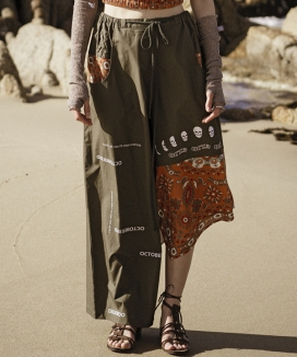 [Oct.3] [Unisex] Hippie Layered Wide Pants