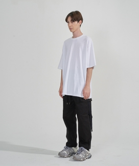 [ENOUGHIISENOUGH] String pocket cotton pant