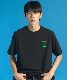 [CHUCK] 19 SUMMER CHUCK THREE LOGO T-SHIRT