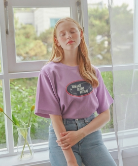 [LETTER FROM MOON] ROMANCE SLOGON T-SHIRTS