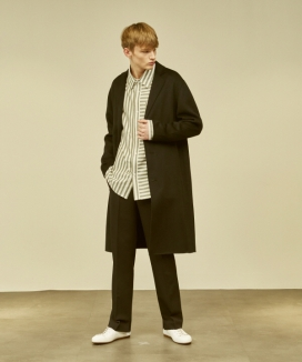 [MMH] Semi-Oversized Fitted RVS Coat
