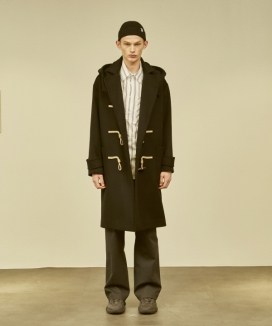 [MMH] Tailored Collar Duffle Coat