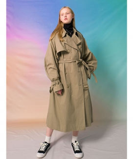 [MAINBOOTH] 9F Oversized Trench Coat