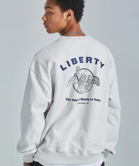 [AT THE MOMENT] Liberty Oversized Sweatshirt