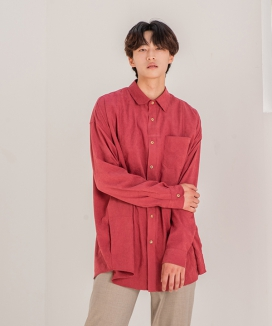 [PRAIRIE] BIO-WASHED OVER-FIT CARDIGAN SHIRTS