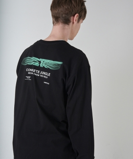 [CRITIC] BLEND LOGO LONG SLEEVE T-SHIRT