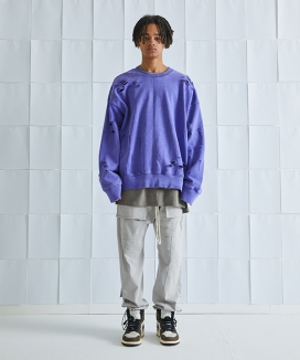 [ATTENTIONROW] Destroyed ver.2 LOCO Pigment Heavy MTM (8 color)