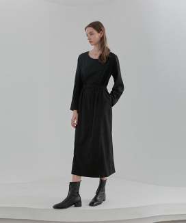 [CURRENT] Belted Dress