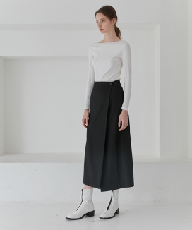 [CURRENT] Long Wrap Skirtss