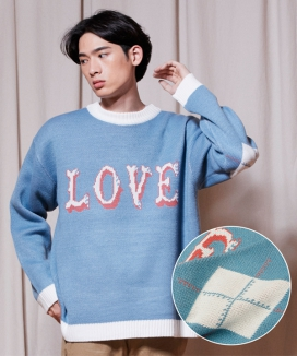 [URBANDTYPE] LOVE Crewneck Knit