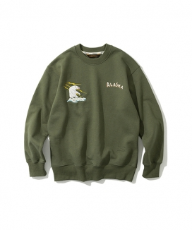 [Uniform Bridge] polar bear sweatshirts