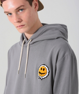 [MISTERCHILD] SMILE NEEDLE CHAIN HOOD