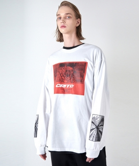 [CRITIC] CITY GRAPHIC LONG SLEEVE T-SHIRT