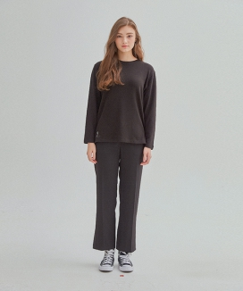 [MANAVIS7] DAILY BASIC WOOL T-SHIRT
