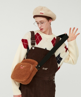 [5252 by oioi] SHEARLING AIRLINE BAG