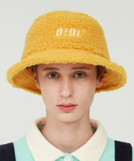 [5252 by oioi] SHEARLING BUCKET HAT