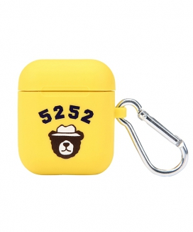 [5252 by oioi] CAMPING BEAR AIRPODS CASE
